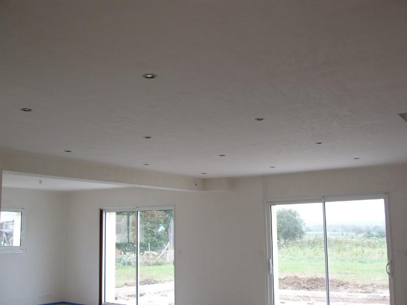 spots maison eclairage plafond
