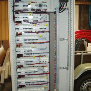 armoire électrique cablage coffret electrique